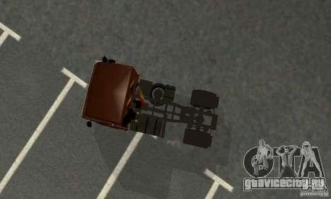 КамАЗ 5460 Skin 4 для GTA San Andreas вид сзади