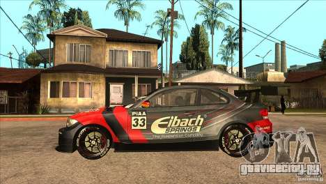 BMW 135i Coupe GP Edition Skin 2 для GTA San Andreas вид слева
