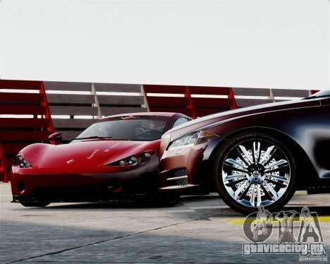 Ascari A10 2007 v2.0 для GTA 4 вид сбоку