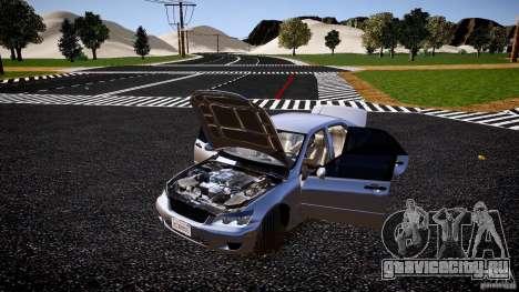 Lexus IS300 для GTA 4 вид сбоку