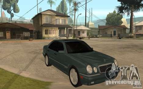 Mercedes-Benz E420 W210 1997 для GTA San Andreas вид сзади