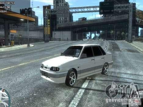 ВАЗ 2115 Light Tuning для GTA 4 вид сзади слева