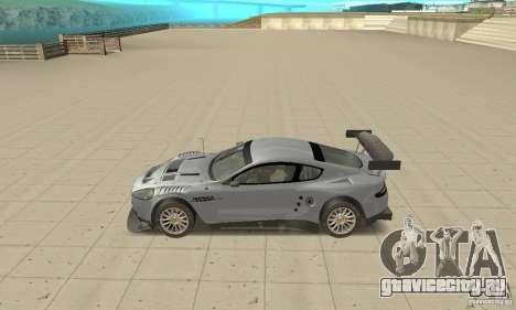 Aston Martin DBR9 (v1.0.0) для GTA San Andreas вид слева