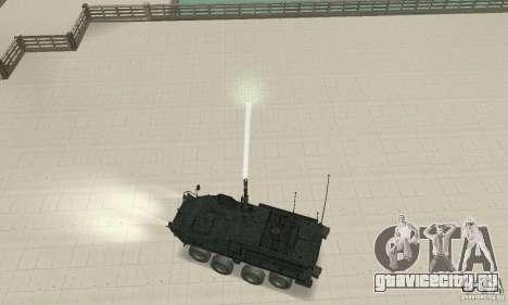 Stryker для GTA San Andreas вид справа