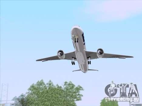 Boeing 787-9 LOT Polish Airlines для GTA San Andreas вид сбоку