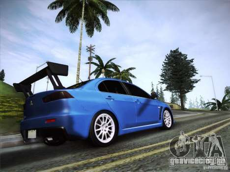Mitsubishi Lancer Evolution Drift Edition для GTA San Andreas вид слева
