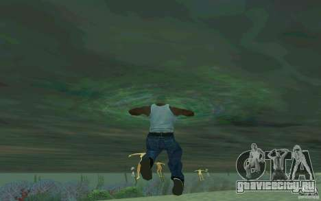 Люди умеют плавать для GTA San Andreas третий скриншот