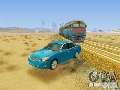 Toyota Mark II Grande для GTA San Andreas вид сбоку