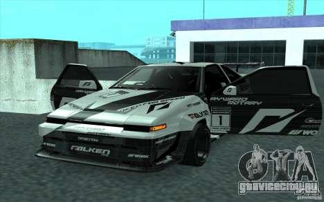 Toyota Corolla AE86 Shift 2 для GTA San Andreas вид сзади