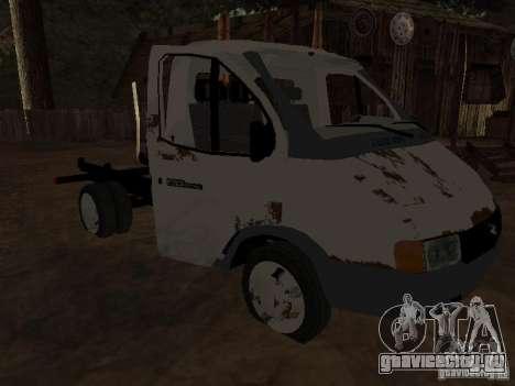 Кузов ГАЗели для GTA San Andreas