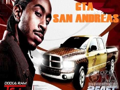 Загрузочные экраны для GTA San Andreas второй скриншот