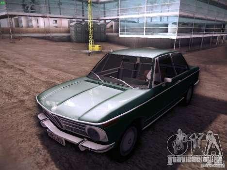 BMW 2002 1972 для GTA San Andreas вид слева