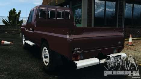 Toyota Land Cruiser Pick-Up 2012 для GTA 4 вид слева