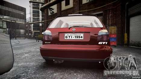 Volkswagen Golf MK3 GTI для GTA 4 вид сбоку