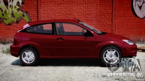 Ford Focus SVT для GTA 4 вид слева