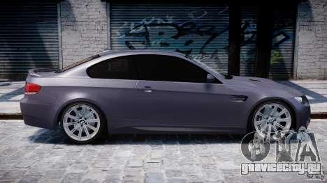 BMW M3 E92 stock для GTA 4 салон