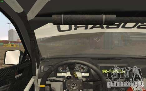 Subaru Impreza WRX Gymkhana2 Beta для GTA San Andreas вид справа