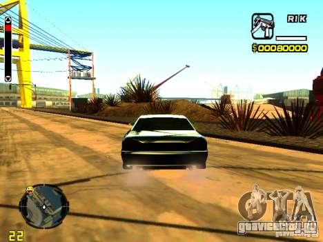 New Elegy v1 для GTA San Andreas вид сзади слева