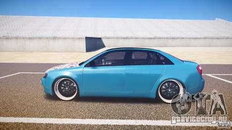 Audi S4 Custom для GTA 4 вид слева