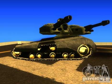 Star Wars Tank v1 для GTA San Andreas вид слева