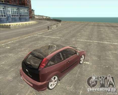 Ford Focus SVT для GTA San Andreas вид слева