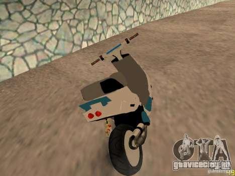 MBK Booster для GTA San Andreas вид слева