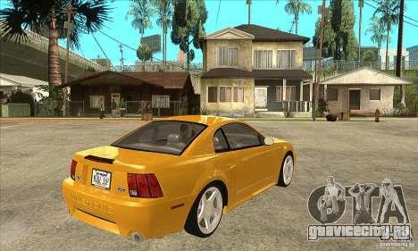 Ford Mustang GT 1999 - Stock для GTA San Andreas вид справа