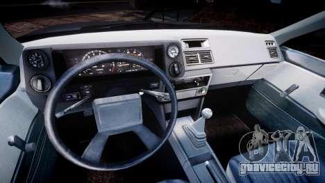 Toyota Sprinter Trueno 1986 для GTA 4 вид сзади