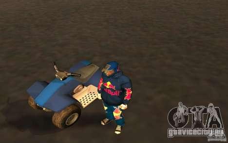 Red Bull Clothes v1.0 для GTA San Andreas второй скриншот
