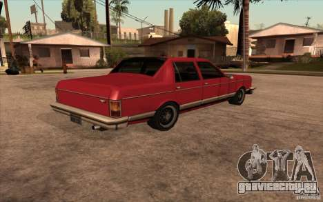 Regal 1987 San Andreas Stories для GTA San Andreas вид слева