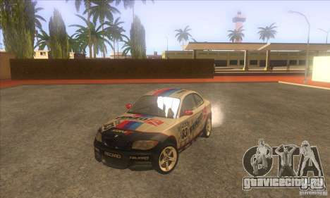 BMW 135i (E82) для GTA San Andreas вид сбоку