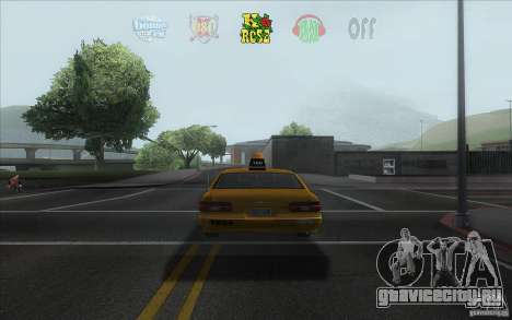 Radio Hud IV для GTA San Andreas