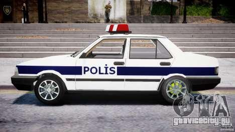 Tofas Sahin Turkish Police v1.0 для GTA 4 вид слева