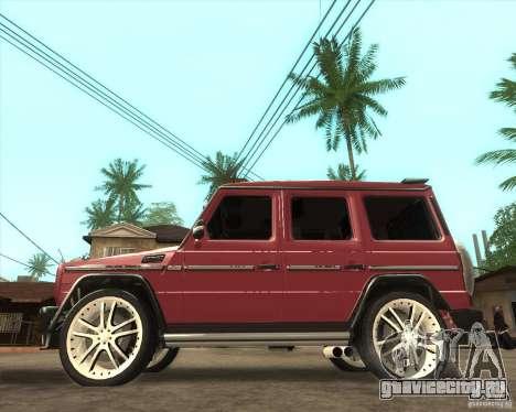 Mercedes Benz G500 A_R_T для GTA San Andreas вид слева
