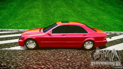 Mercedes-Benz S600 для GTA 4 вид слева