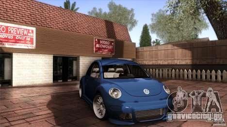 Volkswagen Beetle RSi Tuned для GTA San Andreas вид слева