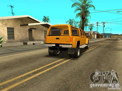 GMC TopKick для GTA San Andreas вид справа