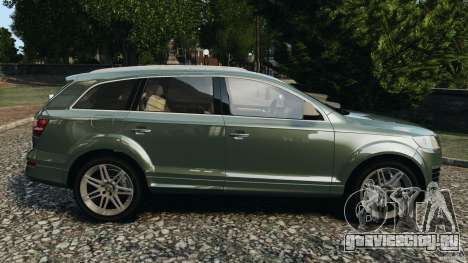 Audi Q7 V12 TDI v1.1 для GTA 4 вид слева