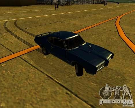 Pontiac GTO 1969 для GTA San Andreas вид сбоку