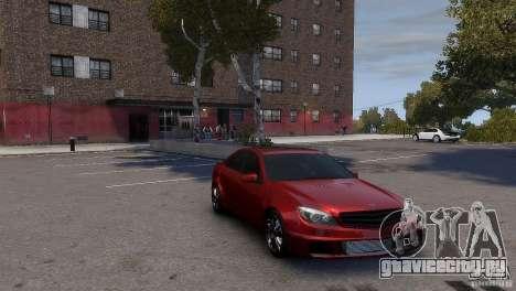 Mercedes-Benz C-Class Brabus для GTA 4 вид сзади слева