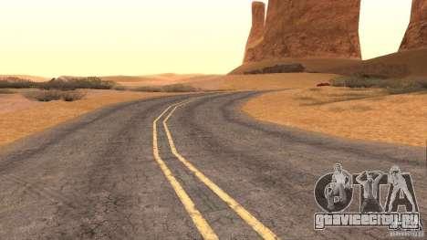 New HQ Roads для GTA San Andreas девятый скриншот