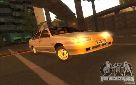 ВАЗ 2115 Stock V 1.0 для GTA San Andreas