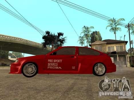 ВАЗ 2112 Red Devil для GTA San Andreas вид слева