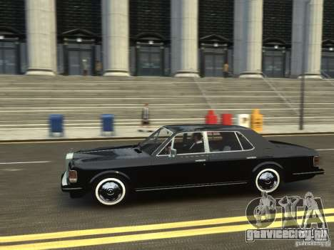 Rolls-Royce Silver Spirit 1990 для GTA 4 вид сзади