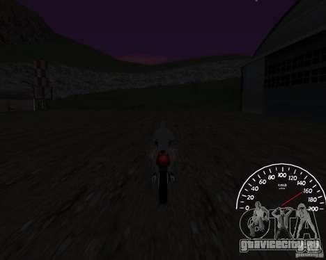 Спидометр 0.5 beta для GTA San Andreas третий скриншот