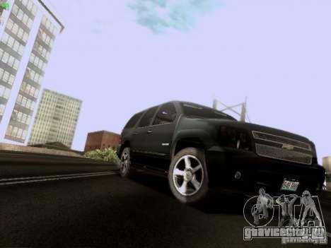 Chevrolet Tahoe 2009 Unmarked для GTA San Andreas вид слева