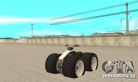 QUAD BIKE Custom Version 1 для GTA San Andreas