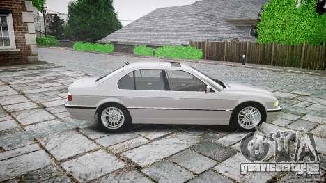 BMW 740i (E38) style 32 для GTA 4 вид слева