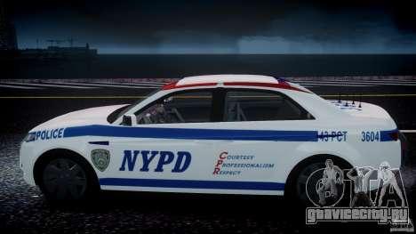 Carbon Motors E7 Concept Interceptor NYPD [ELS] для GTA 4 колёса