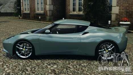 Lotus Evora 2009 v1.0 для GTA 4 вид слева